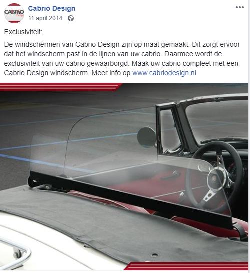 Cabrio Design Facebook
